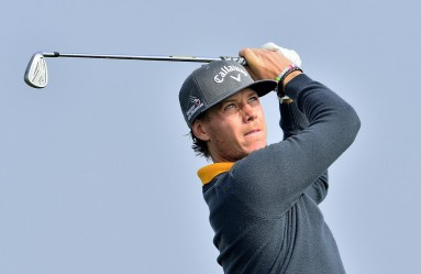 Nov. 14, 2015 - Shanghai, People's Republic of China - KRISTOFFER BROBERG of Sweden during the round 3 of BMW Masters at Lake Malaren Golf Club in Shanghai. (Credit Image: © Marcio Machado via ZUMA Wire), Image: 266174738, License: Rights-managed, Restrictions: Not available for license and invoicing to customers located in Finland., Model Release: no, Credit line: Profimedia, Corbis