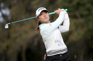 OCALA, FL - FEBRUARY 06: Lydia Ko of New Zealand plays a shot on the 15th hole during the continuation of the third round of the Coates Golf Championship Presented By R+L Carriers at Golden Ocala Golf Club on February 6, 2016 in Ocala, Florida.   Sam Greenwood, Image: 273314491, License: Rights-managed, Restrictions: , Model Release: no, Credit line: Profimedia, AFP