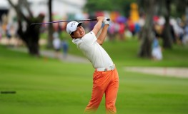 "This handout photo taken and released by Lagardere Sports on January 31, 2016 shows Jeunghun Wang of South Korea hitting a shot during the final round of the Singapore Open at the Sentosa Golf Club in Singapore. The one million USD event is taking place from January 28 to 31, Image: 272778537, License: Rights-managed, Restrictions: --- EDITORS NOTE --- RESTRICTED TO EDITORIAL USE - MANDATORY CREDIT - ""AFP PHOTO / LAGARDERE SPORTS / Khalid Redza"" - NO MARKETING NO ADVERTISING CAMPAIGNS - DISTRIBUTED AS A SERVICE TO CLIENTS, Model Release: no, Credit line: Profimedia, AFP"