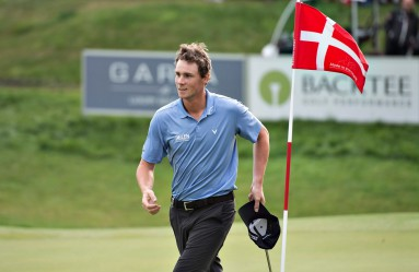 Belgian golfer Thomas Pieters wins the Made in Denmark golf tournament, at Himmerlands Golf & Country Spa, Denmark, 28 August 2016., Image: 298124631, License: Rights-managed, Restrictions: , Model Release: no, Credit line: Profimedia, TEMP EPA