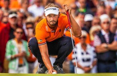 Joost Luiten of the Netherlands on the final day of the KLM Open golf tournament at The Dutch golf course in Spijk, Netherlands, 11 September 2016. Luiten won the tournament., Image: 299518847, License: Rights-managed, Restrictions: , Model Release: no, Credit line: Profimedia, TEMP EPA