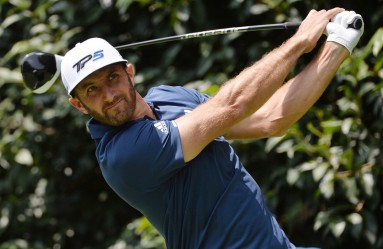 Mar 5, 2017; Mexico City, MEX; Dustin Johnson plays his shot from the second tee during the final round of the WGC - Mexico Championship golf tournament at Club de Golf Chapultepec., Image: 323769014, License: Rights-managed, Restrictions: *** World Rights ***, Model Release: no, Credit line: Profimedia, SIPA USA