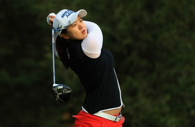 MEXICO CITY, MEXICO - MAY 07: Sei Young Kim of Korea hits a shot on the second tee during the final round of the Citibanamex Lorena Ochoa Match Play Presented by Aeromexico and Delta at Club De Golf Mexico on May 7, 2017 in Mexico City, Mexico.   Sean M. Haffey, Image: 331566163, License: Rights-managed, Restrictions: , Model Release: no, Credit line: Profimedia, Getty images