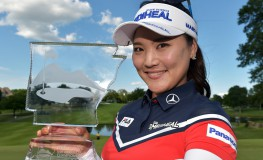 ROGERS, AR - JUNE 25: So Yeon Ryu of South Korea displays the trophy after winning the Walmart NW Arkansas Championship Presented by P&G at Pinnacle Country Club on June 25, 2017 in Rogers, Arkansas.   Drew Hallowell, Image: 339203584, License: Rights-managed, Restrictions: , Model Release: no, Credit line: Profimedia, Getty images