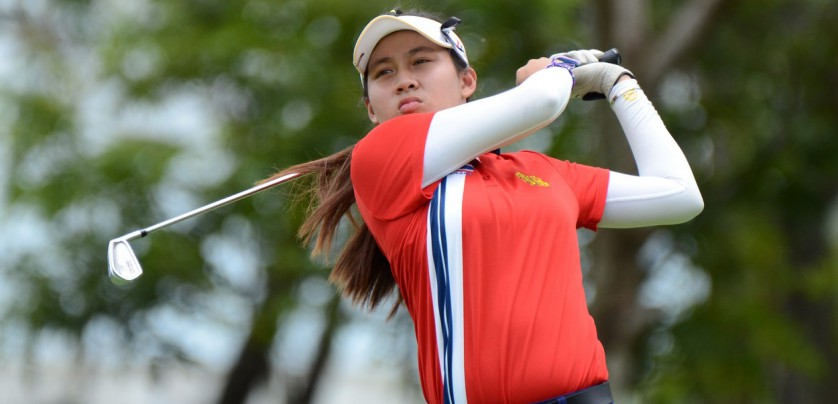 "This handout photo taken on July 8, 2017 and released by the Ladies European Tour shows 14-year old Thai golfer Atthaya Thitikul competing at the Ladies European Thailand Championship golf event in Pattaya., Image: 341316605, License: Rights-managed, Restrictions: RESTRICTED TO EDITORIAL USE - MANDATORY CREDIT ""AFP PHOTO / LADIES EUROPEAN TOUR"" - NO MARKETING NO ADVERTISING CAMPAIGNS - DISTRIBUTED AS A SERVICE TO CLIENTS - NO ARCHIVES, Model Release: no, Credit line: Profimedia, AFP"