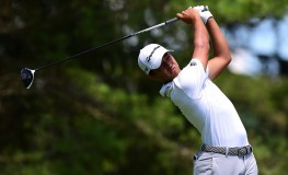 WHITE SULPHUR SPRINGS, WV - JULY 09: Xander Schauffele tees off the sixth hole during the final round of The Greenbrier Classic held at the Old White TPC on July 9, 2017 in White Sulphur Springs, West Virginia.   Jared C. Tilton, Image: 341358690, License: Rights-managed, Restrictions: , Model Release: no, Credit line: Profimedia, Getty images