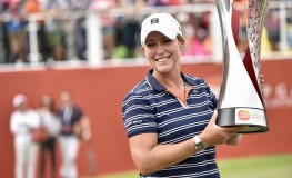 October 29, 2017 - Kuala Lumpur, Malaysia - Cristie Kerr of USA wins the Sime Darby LPGA Malaysia at TPC Kuala Lumpur on October 29, 2017 in Malaysia., Image: 354138680, License: Rights-managed, Restrictions: * France Rights OUT *, Model Release: no, Credit line: Profimedia, Zuma Press - News