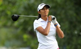 July 21, 2017 - Sylvania, Ohio, United States - Aditi Ashok of India tees off on the third tee during the second round of the Marathon LPGA Classic golf tournament at Highland Meadows Golf Club in Sylvania, Ohio USA, on Friday, July 21, 2017., Image: 342698615, License: Rights-managed, Restrictions: * France Rights OUT *, Model Release: no, Credit line: Profimedia, Zuma Press - News