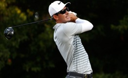 CHARLOTTE, NC - AUGUST 10: Dylan Frittelli of South Africa plays his shot from the second tee during the first round of the 2017 PGA Championship at Quail Hollow Club on August 10, 2017 in Charlotte, North Carolina.   Sam Greenwood, Image: 344663134, License: Rights-managed, Restrictions: , Model Release: no, Credit line: Profimedia, Getty images