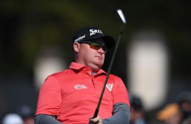 Feb 11, 2018; Pebble Beach, CA, USA; Ted Potter Jr. tees off on the fifth during the final round of the AT&T Pebble Beach Pro-Am golf tournament at Pebble Beach Golf Links., Image: 362987443, License: Rights-managed, Restrictions: *** World Rights ***, Model Release: no, Credit line: Profimedia, SIPA USA